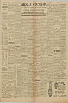 """Ajencja Wschodnia. Codzienne Wiadomości Ekonomiczne = Agence Télégraphique de l'Est = Telegraphenagentur """"Der Ostdienst"""" = Eastern Telegraphic Agency. R.10, nr 120 (27 maja 1930)"""