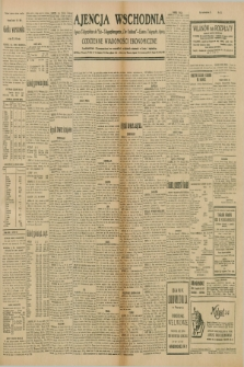 """Ajencja Wschodnia. Codzienne Wiadomości Ekonomiczne = Agence Télégraphique de l'Est = Telegraphenagentur """"Der Ostdienst"""" = Eastern Telegraphic Agency. R.10, nr 121 (28 maja 1930)"""
