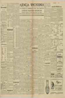 """Ajencja Wschodnia. Codzienne Wiadomości Ekonomiczne = Agence Télégraphique de l'Est = Telegraphenagentur """"Der Ostdienst"""" = Eastern Telegraphic Agency. R.10, nr 123 (31 maja 1930)"""