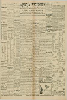 """Ajencja Wschodnia. Codzienne Wiadomości Ekonomiczne = Agence Télégraphique de l'Est = Telegraphenagentur """"Der Ostdienst"""" = Eastern Telegraphic Agency. R.10, nr 125 (3 czerwca 1930)"""