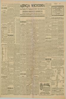 """Ajencja Wschodnia. Codzienne Wiadomości Ekonomiczne = Agence Télégraphique de l'Est = Telegraphenagentur """"Der Ostdienst"""" = Eastern Telegraphic Agency. R.10, nr 128 (6 czerwca 1930)"""