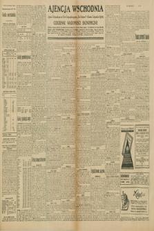 """Ajencja Wschodnia. Codzienne Wiadomości Ekonomiczne = Agence Télégraphique de l'Est = Telegraphenagentur """"Der Ostdienst"""" = Eastern Telegraphic Agency. R.10, nr 135 (15 i 16 czerwca 1930)"""