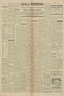 """Ajencja Wschodnia. Codzienne Wiadomości Ekonomiczne = Agence Télégraphique de l'Est = Telegraphenagentur """"Der Ostdienst"""" = Eastern Telegraphic Agency. R.10, nr 136 (17 czerwca 1930)"""