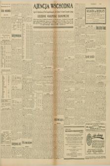 """Ajencja Wschodnia. Codzienne Wiadomości Ekonomiczne = Agence Télégraphique de l'Est = Telegraphenagentur """"Der Ostdienst"""" = Eastern Telegraphic Agency. R.10, nr 138 (19 i 20 czerwca 1930)"""