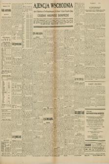 """Ajencja Wschodnia. Codzienne Wiadomości Ekonomiczne = Agence Télégraphique de l'Est = Telegraphenagentur """"Der Ostdienst"""" = Eastern Telegraphic Agency. R.10, nr 139 (21 czerwca 1930)"""