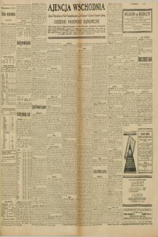 """Ajencja Wschodnia. Codzienne Wiadomości Ekonomiczne = Agence Télégraphique de l'Est = Telegraphenagentur """"Der Ostdienst"""" = Eastern Telegraphic Agency. R.10, nr 140 (22 i 23 czerwca 1930)"""
