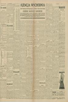 """Ajencja Wschodnia. Codzienne Wiadomości Ekonomiczne = Agence Télégraphique de l'Est = Telegraphenagentur """"Der Ostdienst"""" = Eastern Telegraphic Agency. R.10, nr 143 (26 czerwca 1930)"""