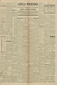 """Ajencja Wschodnia. Codzienne Wiadomości Ekonomiczne = Agence Télégraphique de l'Est = Telegraphenagentur """"Der Ostdienst"""" = Eastern Telegraphic Agency. R.10, nr 144 (27 czerwca 1930)"""