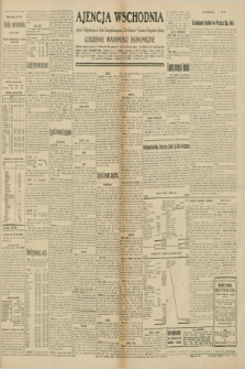 """Ajencja Wschodnia. Codzienne Wiadomości Ekonomiczne = Agence Télégraphique de l'Est = Telegraphenagentur """"Der Ostdienst"""" = Eastern Telegraphic Agency. R.10, nr 145 (28 czerwca 1930)"""
