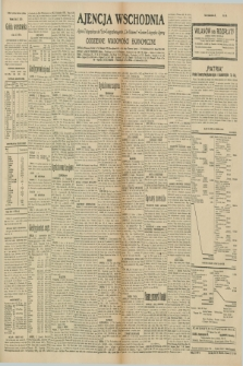 "Ajencja Wschodnia. Codzienne Wiadomości Ekonomiczne = Agence Télégraphique de l'Est = Telegraphenagentur ""Der Ostdienst"" = Eastern Telegraphic Agency. R.10, nr 148 (2 lipca 1930)"