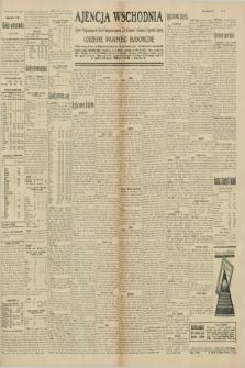 "Ajencja Wschodnia. Codzienne Wiadomości Ekonomiczne = Agence Télégraphique de l'Est = Telegraphenagentur ""Der Ostdienst"" = Eastern Telegraphic Agency. R.10, nr 151 (5 lipca 1930)"
