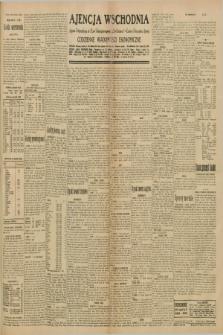 "Ajencja Wschodnia. Codzienne Wiadomości Ekonomiczne = Agence Télégraphique de l'Est = Telegraphenagentur ""Der Ostdienst"" = Eastern Telegraphic Agency. R.10, nr 153 (8 lipca 1930)"