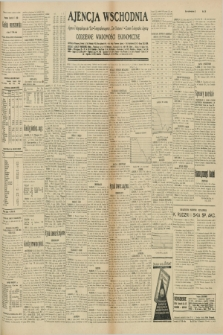 "Ajencja Wschodnia. Codzienne Wiadomości Ekonomiczne = Agence Télégraphique de l'Est = Telegraphenagentur ""Der Ostdienst"" = Eastern Telegraphic Agency. R.10, nr 155 (10 lipca 1930)"