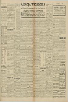 "Ajencja Wschodnia. Codzienne Wiadomości Ekonomiczne = Agence Télégraphique de l'Est = Telegraphenagentur ""Der Ostdienst"" = Eastern Telegraphic Agency. R.10, nr 156 (11 lipca 1930)"
