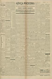 "Ajencja Wschodnia. Codzienne Wiadomości Ekonomiczne = Agence Télégraphique de l'Est = Telegraphenagentur ""Der Ostdienst"" = Eastern Telegraphic Agency. R.10, nr 157 (12 lipca 1930)"