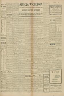 """Ajencja Wschodnia. Codzienne Wiadomości Ekonomiczne = Agence Télégraphique de l'Est = Telegraphenagentur """"Der Ostdienst"""" = Eastern Telegraphic Agency. R.10, nr 158 ([13] i 14 lipca 1930)"""