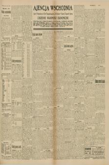 "Ajencja Wschodnia. Codzienne Wiadomości Ekonomiczne = Agence Télégraphique de l'Est = Telegraphenagentur ""Der Ostdienst"" = Eastern Telegraphic Agency. R.10, nr 159 (15 lipca 1930)"