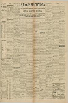 "Ajencja Wschodnia. Codzienne Wiadomości Ekonomiczne = Agence Télégraphique de l'Est = Telegraphenagentur ""Der Ostdienst"" = Eastern Telegraphic Agency. R.10, nr 161 (17 lipca 1930)"