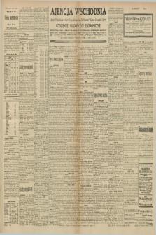 "Ajencja Wschodnia. Codzienne Wiadomości Ekonomiczne = Agence Télégraphique de l'Est = Telegraphenagentur ""Der Ostdienst"" = Eastern Telegraphic Agency. R.10, nr 162 (18 lipca 1930)"