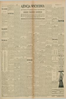 """Ajencja Wschodnia. Codzienne Wiadomości Ekonomiczne = Agence Télégraphique de l'Est = Telegraphenagentur """"Der Ostdienst"""" = Eastern Telegraphic Agency. R.10, nr 164 (20 i 21 lipca 1930)"""