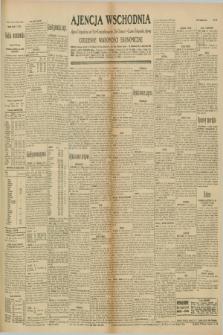 "Ajencja Wschodnia. Codzienne Wiadomości Ekonomiczne = Agence Télégraphique de l'Est = Telegraphenagentur ""Der Ostdienst"" = Eastern Telegraphic Agency. R.10, nr 165 (22 lipca 1930)"