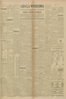 "Ajencja Wschodnia. Codzienne Wiadomości Ekonomiczne = Agence Télégraphique de l'Est = Telegraphenagentur ""Der Ostdienst"" = Eastern Telegraphic Agency. R.10, nr 166 (23 lipca 1930)"