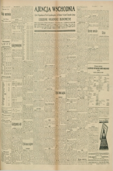 "Ajencja Wschodnia. Codzienne Wiadomości Ekonomiczne = Agence Télégraphique de l'Est = Telegraphenagentur ""Der Ostdienst"" = Eastern Telegraphic Agency. R.10, nr 168 (25 lipca 1930)"