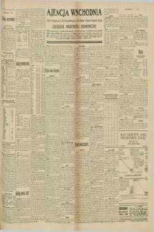 "Ajencja Wschodnia. Codzienne Wiadomości Ekonomiczne = Agence Télégraphique de l'Est = Telegraphenagentur ""Der Ostdienst"" = Eastern Telegraphic Agency. R.10, nr 169 (26 lipca 1930)"