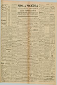 """Ajencja Wschodnia. Codzienne Wiadomości Ekonomiczne = Agence Télégraphique de l'Est = Telegraphenagentur """"Der Ostdienst"""" = Eastern Telegraphic Agency. R.10, nr 170 (27 i 28 lipca 1930)"""