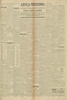 "Ajencja Wschodnia. Codzienne Wiadomości Ekonomiczne = Agence Télégraphique de l'Est = Telegraphenagentur ""Der Ostdienst"" = Eastern Telegraphic Agency. R.10, nr 171 (29 lipca 1930)"