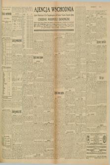 "Ajencja Wschodnia. Codzienne Wiadomości Ekonomiczne = Agence Télégraphique de l'Est = Telegraphenagentur ""Der Ostdienst"" = Eastern Telegraphic Agency. R.10, nr 172 (30 lipca 1930)"