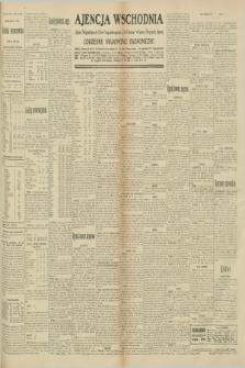 "Ajencja Wschodnia. Codzienne Wiadomości Ekonomiczne = Agence Télégraphique de l'Est = Telegraphenagentur ""Der Ostdienst"" = Eastern Telegraphic Agency. R.10, nr 175 (2 sierpnia 1930)"