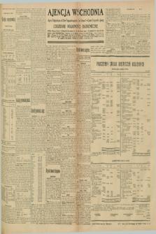 "Ajencja Wschodnia. Codzienne Wiadomości Ekonomiczne = Agence Télégraphique de l'Est = Telegraphenagentur ""Der Ostdienst"" = Eastern Telegraphic Agency. R.10, nr 177 (5 sierpnia 1930)"