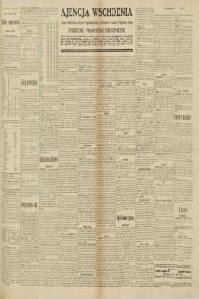 "Ajencja Wschodnia. Codzienne Wiadomości Ekonomiczne = Agence Télégraphique de l'Est = Telegraphenagentur ""Der Ostdienst"" = Eastern Telegraphic Agency. R.10, nr 179 (7 sierpnia 1930)"