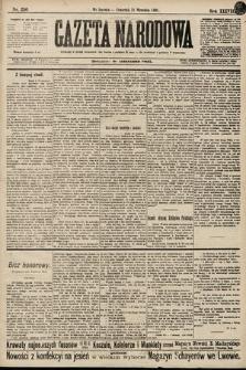 Gazeta Narodowa. 1898, nr256