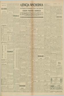 "Ajencja Wschodnia. Codzienne Wiadomości Ekonomiczne = Agence Télégraphique de l'Est = Telegraphenagentur ""Der Ostdienst"" = Eastern Telegraphic Agency. R.10, nr 184 (13 sierpnia 1930)"