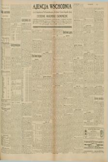 "Ajencja Wschodnia. Codzienne Wiadomości Ekonomiczne = Agence Télégraphique de l'Est = Telegraphenagentur ""Der Ostdienst"" = Eastern Telegraphic Agency. R.10, nr 189 (20 sierpnia 1930)"