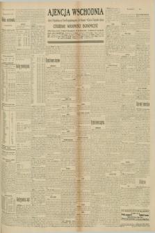 "Ajencja Wschodnia. Codzienne Wiadomości Ekonomiczne = Agence Télégraphique de l'Est = Telegraphenagentur ""Der Ostdienst"" = Eastern Telegraphic Agency. R.10, nr 191 (22 sierpnia 1930)"