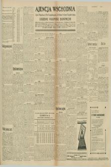 "Ajencja Wschodnia. Codzienne Wiadomości Ekonomiczne = Agence Télégraphique de l'Est = Telegraphenagentur ""Der Ostdienst"" = Eastern Telegraphic Agency. R.10, nr 193 (25 sierpnia 1930)"