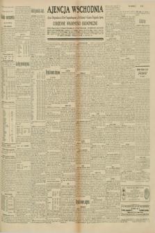 "Ajencja Wschodnia. Codzienne Wiadomości Ekonomiczne = Agence Télégraphique de l'Est = Telegraphenagentur ""Der Ostdienst"" = Eastern Telegraphic Agency. R.10, nr 195 (27 sierpnia 1930)"