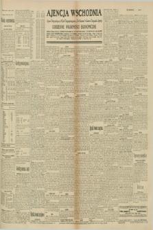 "Ajencja Wschodnia. Codzienne Wiadomości Ekonomiczne = Agence Télégraphique de l'Est = Telegraphenagentur ""Der Ostdienst"" = Eastern Telegraphic Agency. R.10, nr 197 (29 sierpnia 1930)"
