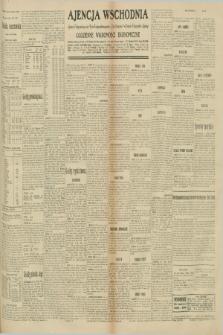 "Ajencja Wschodnia. Codzienne Wiadomości Ekonomiczne = Agence Télégraphique de l'Est = Telegraphenagentur ""Der Ostdienst"" = Eastern Telegraphic Agency. R.10, nr 198 (30 sierpnia 1930)"