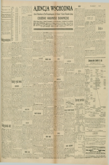 """Ajencja Wschodnia. Codzienne Wiadomości Ekonomiczne = Agence Télégraphique de l'Est = Telegraphenagentur """"Der Ostdienst"""" = Eastern Telegraphic Agency. R.10, nr 199 (1 września 1930)"""