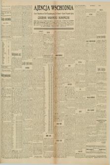 """Ajencja Wschodnia. Codzienne Wiadomości Ekonomiczne = Agence Télégraphique de l'Est = Telegraphenagentur """"Der Ostdienst"""" = Eastern Telegraphic Agency. R.10, nr 205 (8 września 1930)"""