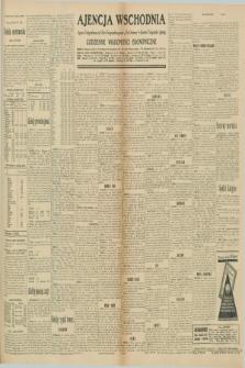 """Ajencja Wschodnia. Codzienne Wiadomości Ekonomiczne = Agence Télégraphique de l'Est = Telegraphenagentur """"Der Ostdienst"""" = Eastern Telegraphic Agency. R.10, nr 206 (9 września 1930)"""