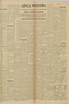 """Ajencja Wschodnia. Codzienne Wiadomości Ekonomiczne = Agence Télégraphique de l'Est = Telegraphenagentur """"Der Ostdienst"""" = Eastern Telegraphic Agency. R.10, nr 207 (10 września 1930)"""