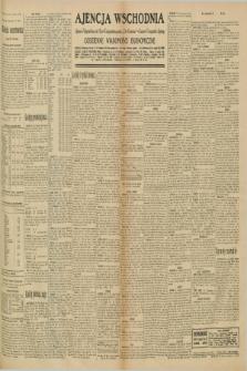 """Ajencja Wschodnia. Codzienne Wiadomości Ekonomiczne = Agence Télégraphique de l'Est = Telegraphenagentur """"Der Ostdienst"""" = Eastern Telegraphic Agency. R.10, nr 208 (11 września 1930)"""