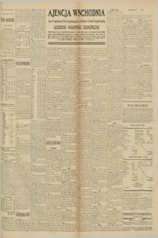 """Ajencja Wschodnia. Codzienne Wiadomości Ekonomiczne = Agence Télégraphique de l'Est = Telegraphenagentur """"Der Ostdienst"""" = Eastern Telegraphic Agency. R.10, nr 209 (12 września 1930)"""