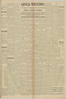 """Ajencja Wschodnia. Codzienne Wiadomości Ekonomiczne = Agence Télégraphique de l'Est = Telegraphenagentur """"Der Ostdienst"""" = Eastern Telegraphic Agency. R.10, nr 211 (15 września 1930)"""