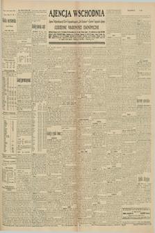 """Ajencja Wschodnia. Codzienne Wiadomości Ekonomiczne = Agence Télégraphique de l'Est = Telegraphenagentur """"Der Ostdienst"""" = Eastern Telegraphic Agency. R.10, nr 215 (19 września 1930)"""